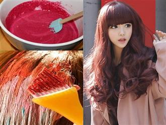 Muốn thay đổi màu tóc nhưng ngại dị ứng da, hãy học ngay các công thức thuốc nhuộm tự nhiên này