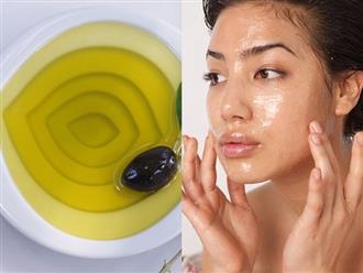 Dùng loại dầu này mát xa khuôn mặt mỗi ngày, da ẩm mịn, căng mướt như em bé suốt mùa đông