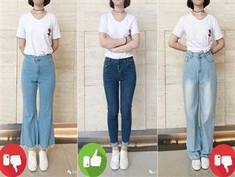 Đại diện các chị em mặc thử 8 loại quần jeans phổ biến, cô nàng này đã tìm ra loại tôn chân nịnh dáng nhất