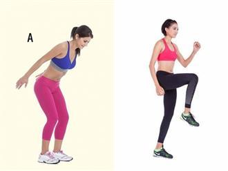 Dành 15 phút tập 5 động tác tabata này giúp đốt cháy chất béo, calo nhiều hơn 60 phút chạy bộ