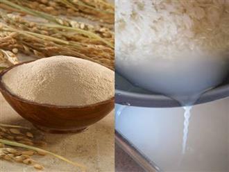 """""""Đánh bay"""" toàn bộ nám da bằng cám gạo, hết sạch trong vòng 1 tuần"""