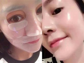 Đắp mặt nạ giấy xong có nên rửa lại không, 80% mọi người đang làm sai bảo sao da mãi vẫn xấu
