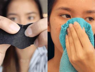 Đây chính là tip siêu đơn giản giúp bạn lột sạch mụn đầu đen trong sự thỏa mãn tột cùng