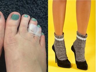 Đi giày cao gót cả ngày không lo phồng rộp hay đau chân nếu làm điều này trong 1 phút, mẹo hay mà mọi cô gái trên thế giới nên biết