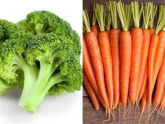 Điểm mặt các loại rau củ giúp giảm cân tuyệt vời sau tết