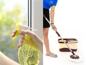 Dọn dẹp nhà cửa đón Tết cũng có thể giúp bạn giảm cân