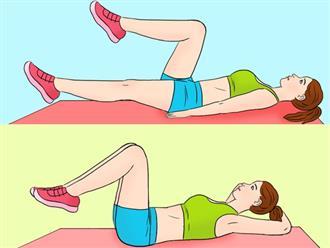 Động tác giảm kích thước vòng eo cực nhanh, tập đều đặn sau 7 ngày mỡ bụng bị đốt cháy toàn bộ