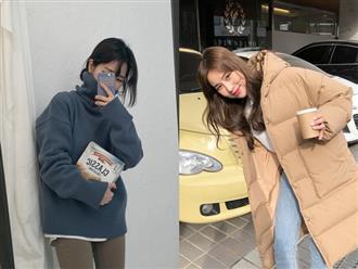 Dựng áo cổ lọ, mix 2 áo len...: 5 tuyệt chiêu giúp bạn mặc ấm mà vẫn đảm bảo chỉ có đẹp trở lên trong ngày mưa rét