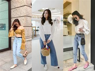 Đừng nghĩ mặc jeans là không điệu được, cứ nhìn các nàng blogger lên đồ cực xinh qua 15 set đồ này sẽ biết ngay