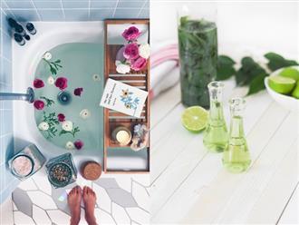 Dùng tinh dầu khi tắm sao cho đúng?