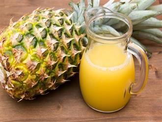 Giảm cân, thanh lọc cơ thể với 1 trái dứa mỗi ngày