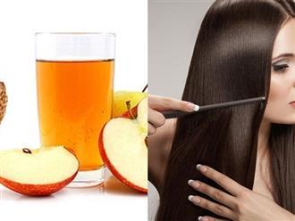 6 công dụng làm đẹp 'thần thánh' của giấm táo
