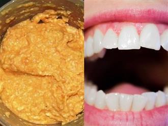 Giật mình loại rau chưa đến 2k 1 mớ mà đánh sạch mảng bám, ố vàng, cao răng bong ra từng mảng trong 1 nốt nhạc