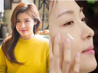 Ha Ji Won chia sẻ cách giữ gìn làn da đôi mươi dù đã U40