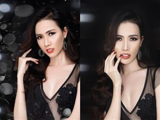 Hoa hậu Phan Thị Mơ gợi ý trang điểm dự tiệc với son cam