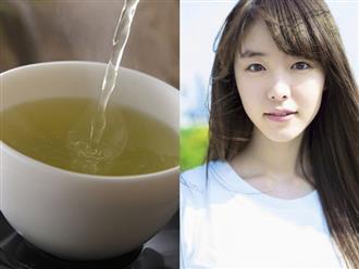 Học phụ nữ Nhật cách uống nước trà xanh đúng thời điểm, da dẻ trắng mướt, nhan sắc tươi trẻ vì lão hóa không dám đến gần