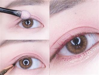 Học phong cách trang điểm với đôi mắt hồng xinh hút hồn của các cô nàng Thái Lan