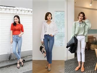 Học theo tiêu chí này, bạn mặc skinny jeans không những đẹp mà chẳng sợ ai chê quê mùa