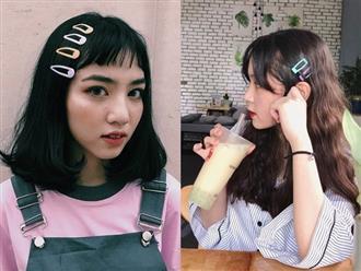 Hot girl Việt đua nhau theo mốt tóc kẹp siêu 'hack' tuổi