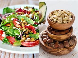 Không muốn lão hóa da từ năm 20 tuổi thì nên tuân thủ 6 thói quen ăn uống lành mạnh sau
