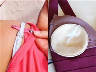 Là phụ nữ mà không biết đến 10 mẹo dùng áo ngực cực chuẩn này thì phí cả đời