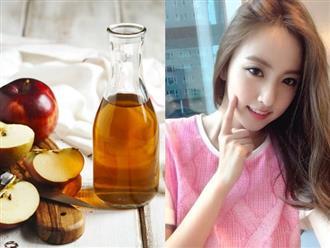 Là phụ nữ mà không biết làm toner giấm táo để dưỡng da khỏe đẹp, xóa mờ nám và dưỡng tóc suôn dài thì quá uổng