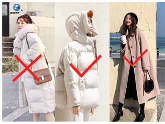 """Lạnh đến mấy các nàng cũng cần nhớ 2 quy tắc này để tránh vẻ ngoài """"cồng kềnh"""" với đùm bọc đủ lớp áo"""