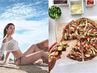 Lilly Nguyễn chia sẻ công thức làm pizza ăn kiêng từ khoai lang