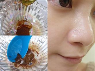 Lấy bột cà phê trộn với thứ này làm mặt nạ đắp buổi tối, tác dụng giống như huyết thanh, toner ngăn ngừa lão hóa