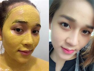 Muốn mặt nạ tinh bột nghệ phát huy tác dụng dưỡng trắng, trị nám da tốt nhất, phải kết hợp với 3 thành phần này
