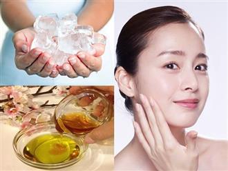 Phụ nữ U40 muốn kéo căng da mặt tại nhà, học ngay cách mát xa bằng đá lạnh và tinh dầu này
