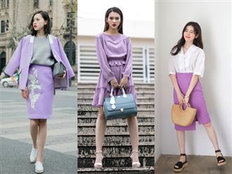 Cập nhật mẫu đồ Tết năm 2018 mới nhất: Họa tiết 'Cô Ba Sài Gòn' lên ngôi, màu tím ngọt ngào trở lại