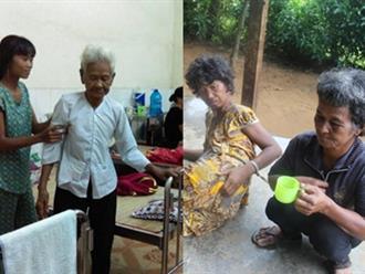 Cụ bà 85 tuổi xin từng bữa ăn nuôi 4 con tâm thần vừa nhập viện vì bạo bệnh: 'Bà sợ mình chết đi tụi nó không ai chăm sóc'