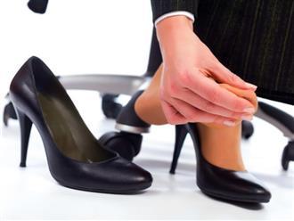 Mẹo cứu cánh cho đôi giày bị chật
