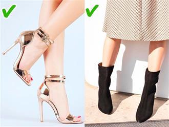 9 mẹo chọn giày cao gót, sneakers vừa đẹp vừa không bao giờ lỗi thời, làm sai là kém sang ngay
