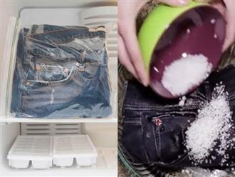 Mặc quần jean thường xuyên mà không biết mẹo nới quần chật, thu quần rộng này thì phí cả đời
