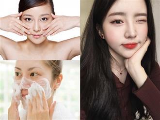 Muốn mặt trắng hồng, mềm mịn, không tì vết như gái Hàn, hãy dưỡng da theo 9 quy tắc này mỗi ngày