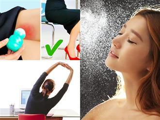 7 bí quyết làm đẹp cực hữu ích giúp phụ nữ văn phòng giữ dáng, duy trì làn da mềm mịn và bảo vệ sức khỏe