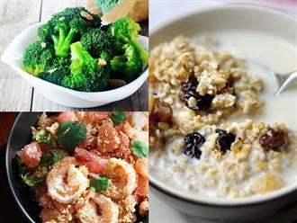 Mẹo chuẩn bị trước bữa sáng giảm cân để tiết kiệm thời gian
