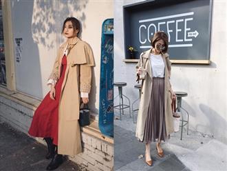 Muốn mặc đẹp mà chẳng cần nghĩ nhiều, bạn cứ diện áo trench coat với 4 công thức mix&match xuất sắc miễn bàn này