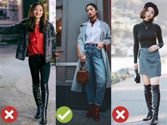 """Nếu sở hữu chiều cao khiêm tốn, các nàng đừng liều lĩnh diện mẫu giày này kẻo cặp chân dễ thành """"ngắn một mẩu"""""""