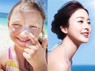 Nghiên cứu chỉ ra rằng: Thoa kem chống nắng từ khi còn nhỏ giúp giảm đến 40% nguy cơ mắc bệnh này về da