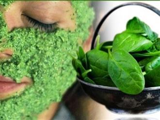 Nghiền nát rau mồng tơi - công thức mặt nạ hô biến da đen nhẻm thành trắng nõn nà hiệu quả hơn cả mỹ phẩm tiền triệu