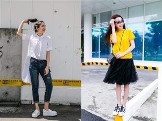 Những cách chọn giày phối cùng trang phục sai lầm nàng thường gặp