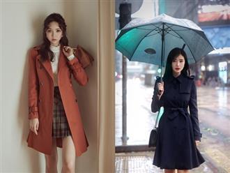 Những kiểu áo khoác cực 'hot' và sành điệu đang được các chị em 'săn lùng' nhất đầu mùa lạnh này!