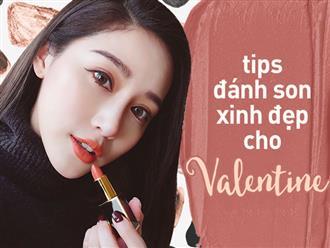 Những kiểu đánh son cực xinh cho các nàng nhân dịp Valentine