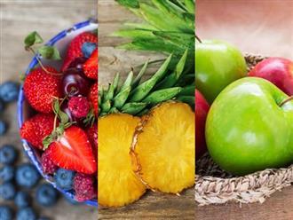 """Những loại quả ăn """"thả phanh"""" buổi tối không lo tăng cân mà còn """"eo đẹp dáng thon"""""""