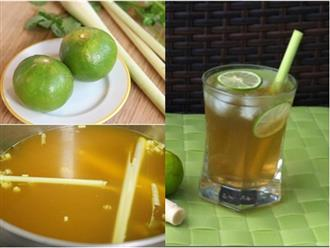 Nấu nước chanh sả trộn với thứ này để uống, vừa giảm cân 'vù vù' vừa đốt mỡ trong máu hiệu nghiệm