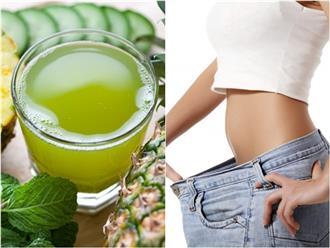 Uống 5 loại nước từ rau xanh xay nhuyễn này 3 lần/tuần, đào thải hoàn toàn chất béo giúp giảm cân 'siêu tốc'