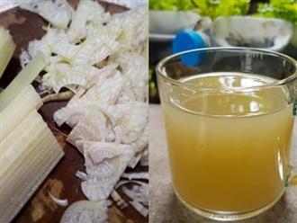 Công thức làm nước ép từ thân cây chuối vừa tốt cho sức khỏe lại giảm cân, thanh lọc cơ thể